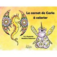 Le carnet de Carla à colorier - P.J. Chadwick, ill. Madeline Robertson