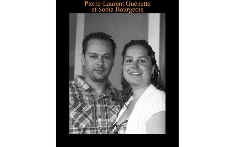 Pierre-Laurent Guénette et Sonia Bourgeois